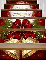 baratos -Decorações de férias Decorações Natalinas Enfeites de Natal Decorativa Vermelho 6pcs