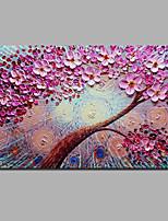 Недорогие -С картинкой Отпечатки на холсте - Halloween / Цветочные мотивы / ботанический Классика / Modern