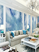 abordables -fond d'écran / Mural Toile Revêtement - adhésif requis Rayé / Décoration artistique / Motif