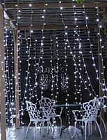 baratos -6m Cordões de Luzes 600 LEDs Branco Decorativa 220-240 V 1conjunto