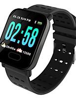 abordables -Bracelet à puce Indear-M20/A6 pour Android iOS Bluetooth Sportif Imperméable Moniteur de Fréquence Cardiaque Mesure de la pression sanguine Ecran Tactile Podomètre Rappel d'Appel Moniteur d'Activit
