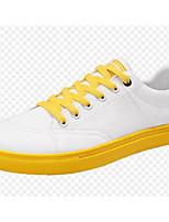 Недорогие -Муж. Комфортная обувь Полотно Весна Кеды Желтый / Зеленый