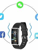 abordables -Bracelet à puce R9 pour Android iOS Bluetooth Sportif Imperméable Moniteur de Fréquence Cardiaque Mesure de la pression sanguine Ecran Tactile Podomètre Rappel d'Appel Moniteur d'Activité Moniteur de