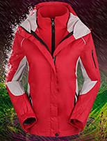 abordables -Femme Veste de Ski Pare-vent, Etanche, Garder au chaud Ski / Camping / Randonnée / Snowboard Flanelle Hiver Anorak fleece / Polaires Tenue de Ski