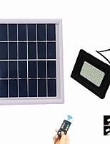 baratos -1pç 5 W Focos de LED Impermeável / Controlado remotamente / Solar Branco Quente + Branco 3.7 V Iluminação Externa / Pátio / Jardim 80 Contas LED
