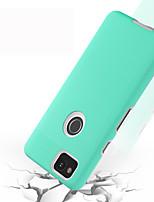 baratos -BENTOBEN Capinha Para Google Pixel 2 Antichoque / Ultra-Fina / Wireless Charging Receiver Case Capa traseira Sólido Rígida TPU / PC para Pixel 2