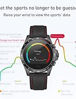 abordables -Montre Smart Watch YY-CK23 pour Android iOS Bluetooth Sportif Imperméable Moniteur de Fréquence Cardiaque Mesure de la pression sanguine Ecran Tactile Chronomètre Podomètre Rappel d'Appel Moniteur
