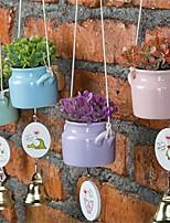 Недорогие -Искусственные Цветы 1 Филиал Классический / Односпальный комплект (Ш 150 x Д 200 см) Стиль / Modern Pастений / Ваза Цветы на стену