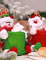 Недорогие -Аксессуары для вечеринок Рождество / Вечеринка / ужин Фавор украшения Нетканые Новогодняя тематика / Костюмы Санта Клауса / Снеговик