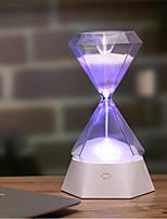 Недорогие -1шт Алмазные песочные часы LED Night Light / Детский ночной свет Цветной USB Для детей / Перезаряжаемый / Сенсорный датчик 5 V