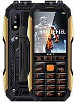 "billiga -SERVO X7 TV Phone 2.4 tum "" Mobiltelefon ( Other + Övrigt 0.3 mp 4000 mAh mAh )"