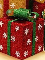 baratos -Decorações de férias Decorações Natalinas Natal Decorativa / Legal Vermelho 1pç