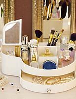 Недорогие -Место хранения организация Косметологический макияж пластик Нерегулярная форма Двойной слой