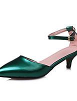 Недорогие -Жен. Балетки Резина Весна Обувь на каблуках На шпильке Красный / Зеленый / Синий