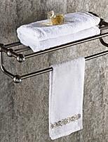 Недорогие -Полка для ванной Креатив Современный Латунь 1шт Двуспальный комплект (Ш 200 x Д 200 см) На стену