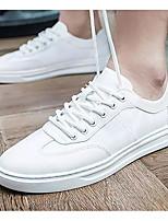 Недорогие -Муж. Комфортная обувь Синтетика Лето Кеды Белый