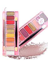 abordables -6 couleurs Fards à Paupières Œil durable Portable Maquillage Quotidien / Maquillage de Fête Maquillage Cosmétique