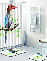 Недорогие -1 комплект Мультяшная тематика / Традиционный Коврики для ванны 100 г / м2 полиэфирный стреч-трикотаж Животное Прямоугольная Ванная комната Новый дизайн