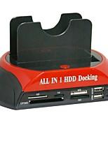 Недорогие -Корпус жесткого диска Легко для того чтобы снести пластик USB 2.0 875-j