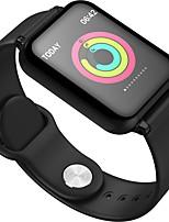 baratos -Pulseira inteligente B57 para Android iOS Bluetooth Esportivo Impermeável Monitor de Batimento Cardíaco Medição de Pressão Sanguínea Tela de toque Podômetro Aviso de Chamada Monitor de Sono Lembrete