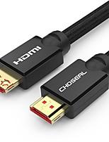 Недорогие -Choseal HDMI 2.0 Кабель, HDMI 2.0 к HDMI 2.0 Кабель Male - Male 4K*2K 10.0M (30ft)