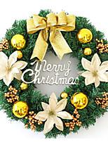 Недорогие -Гирлянды Цветы пластик / PVC Круглый Оригинальные Рождественские украшения