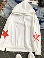 baratos -Mulheres Moda de Rua Solto Calças - Estrela Branco