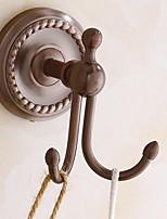 abordables -Crochet à Peignoir Design nouveau / Cool Moderne Métal 1pc Montage mural