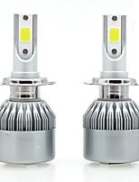 Недорогие -SENCART 2pcs 880/888 / H7 / H3 Мотоцикл / Автомобиль Лампы 36 W Интегрированный LED / COB 3800 lm 2 Светодиодная лампа / Галогенная лампа Противотуманные фары / Фары дневного света / Налобный фонарь