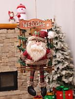 baratos -Enfeites de Natal Natal De madeira Quadrada Novidades Decoração de Natal