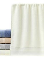abordables -Qualité supérieure Serviette, Couleur Pleine 100% Coton Salle de séjour 1 pcs