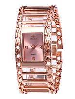 Недорогие -Жен. Наручные часы Кварцевый 30 m Новый дизайн Повседневные часы Нержавеющая сталь Группа Аналоговый Винтаж Мода Серебристый металл / Золотистый / Розовое золото -