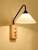 baratos -Estilo Mini Moderno / Contemporâneo / Retro Luminárias de parede Sala de Estar / Quarto Metal Luz de parede 110-120V / 220-240V 60 W