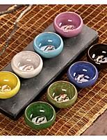 Недорогие -Набор для чайного набора 6шт кунг-фу для керамических чайных чашек&чайные сервизы