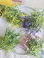 Недорогие -Искусственные Цветы 1 Филиал Классический Свадебные цветы / Пастораль Стиль Светло-голубой Букеты на стол
