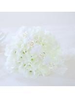 Недорогие -Свадебные цветы Букетик на запястье Свадьба / Свадебные прием Шифон / Кружево / Шелк 0-10 cm