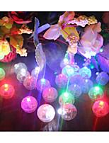 baratos -Luz LED Plásticos Decorações do casamento Natal / Casamento Família Todas as Estações