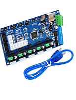 Недорогие -keyes 3d плата управления принтером mks gen v1.2 для отправки usb кабеля