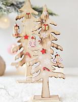 Недорогие -Праздничные украшения Рождественский декор Рождество Для вечеринок Кофейный 1шт