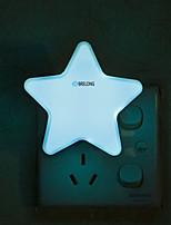Недорогие -brlong интеллектуальный свет контроль индукции европейский стандарт звезда ночной свет 1 шт.