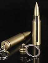 Недорогие -миллион спичек пуля зажигалка с брелок универсальный открытый аварийный огонь стартер кемпинг пеший туризм выживание инструмент безопасность нет масла