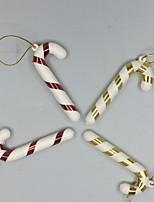 abordables -Décorations de vacances Décorations de Noël Noël Soirée Rouge 6pcs