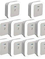 Недорогие -brelong интеллектуальный контроль света индукция европейский стандарт квадратный ночник 10 шт.