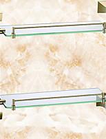 Недорогие -Полка для ванной Новый дизайн / Cool Современный Металл 1шт На стену