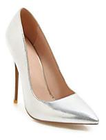 Недорогие -Жен. Комфортная обувь Синтетика Весна Обувь на каблуках На шпильке Серебряный / Красный / Розовый