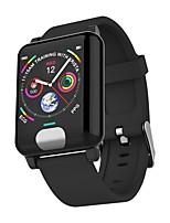 Недорогие -Indear E04 Умный браслет Android iOS Bluetooth Спорт Водонепроницаемый Пульсомер Измерение кровяного давления Сенсорный экран ЭКГ + PPG / Израсходовано калорий / Длительное время ожидания / Педометр