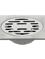 Недорогие -Слив Новый дизайн / Cool Modern Нержавеющая сталь 1шт Установка на полу