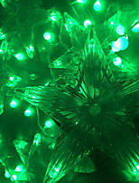abordables -3M Guirlandes Lumineuses 60 LED Vert Décorative 220-240 V 1 set