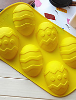 Недорогие -Инструменты для выпечки силикагель Творческая кухня Гаджет Необычные гаджеты для кухни Прямоугольный Формы для пирожных 1шт