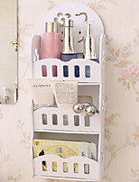 Недорогие -Хранение косметики Креатив / Оригинальные Модерн Дерево 1шт Украшение ванной комнаты